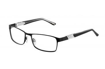 Davidoff 93040 Progressive Prescription Eyeglasses - Black Frame and Clear Lens 93040-610PR