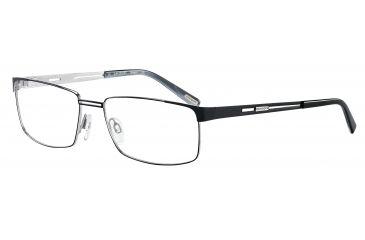 Davidoff 95098 Progressive Prescription Eyeglasses - Black Frame and Clear Lens 95098-572PR