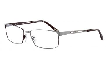 Davidoff 95098 Progressive Prescription Eyeglasses - Grey Frame and Clear Lens 95098-573PR