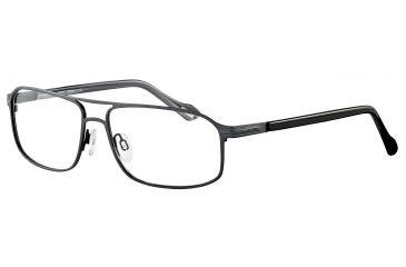 Davidoff 95100 Bifocal Prescription Eyeglasses - Grey Frame and Clear Lens 95100-567BI