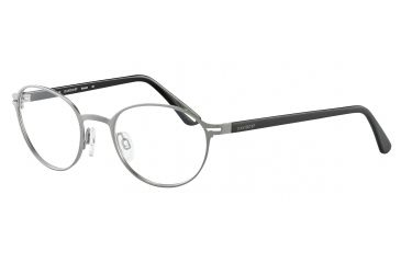 Davidoff 95101 Progressive Prescription Eyeglasses - Grey Frame and Clear Lens 95101-568PR