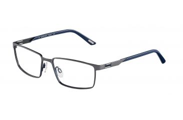 Davidoff 95107 Progressive Prescription Eyeglasses - Grey Frame and Clear Lens 95107-607PR