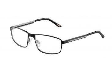 Davidoff 95108 Single Vision Prescription Eyeglasses - Black Frame and Clear Lens 95108-610SV