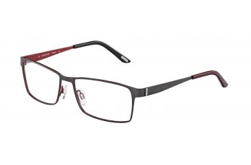 Davidoff 95110 Single Vision Prescription Eyeglasses - Grey Frame and Clear Lens 95110-608SV