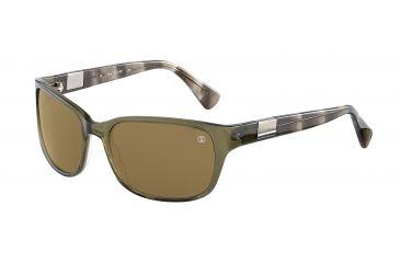Davidoff No. 97118 Sunglasses - Green Frame and Brown Lens 97118-6286