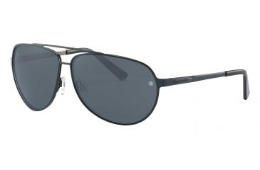 Davidoff 97323 Progressive Prescription Sunglasses - Blue Frame and Grey Lens 97323-559PR
