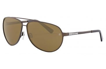 Davidoff 97323 Progressive Prescription Sunglasses - Brown Frame and Zeiss Skypol Brown Lens 97323-558PR