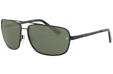 Davidoff No. 97324 Sunglasses - Black Frame and Grey Green Lens 97324-610