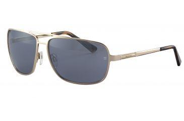 Davidoff No. 97324 Sunglasses - Gold Frame and Grey Silver Lens 97324-600
