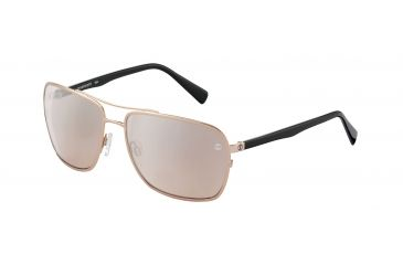 Davidoff No. 97329 Sunglasses - Redgold Frame and Rose Brown Lens 97329-700