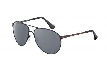 Davidoff No. 97330 Sunglasses - Black Frame and Grey Silver Lens 97330-592