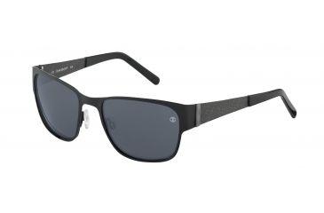 Davidoff No. 97333 Sunglasses - Black Frame and Grey Lens 97333-610