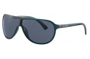 Davidoff 97607 Progressive Prescription Sunglasses - Green Frame and Grey Lens 97607-410PR