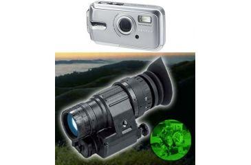 2-PC Day / Night Photography Set - Pentax Waterproof 7.0 MP Digital Camera and ATN Generation 4 Night Vision Monocular
