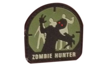 Ddt rubber morale patch zombie hunter   33% off free shipping.