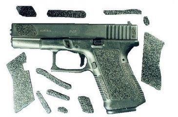 Decal Grip Enhancer For Glock 17 w/Finger Grooves G17FGR