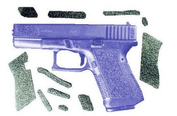 Decal Grip Enhancer For Glock 19 - G19R