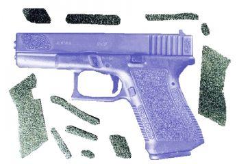 Decal Grip Enhancer For Glock 17 G17R