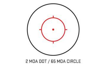 11-Sig Sauer Romeo4M 1X20 M-Spec 2 MOA