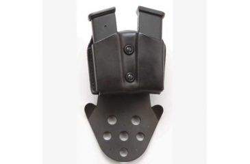 DeSantis Ambidextrous - Black - Double Magazine Pouch w/ Paddle A1PBJGGZ0