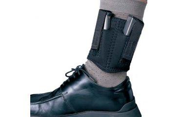DeSantis Amidextrous - Black - Neoprene Ankle Double Magazine Pouch N81BJZZZ0