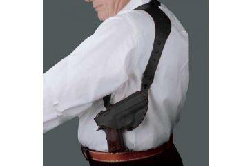 Desantis C.E.O. Shoulder Rig for H&K USP Compact 9mm/40cal, P2000, Left Hand, Black 11ZBBF3Z0