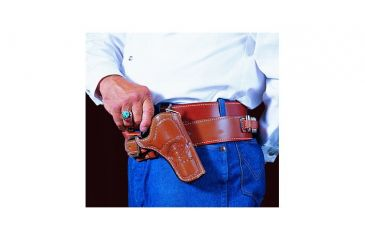 DeSantis Doc Holliday Cross Draw Holster - Left, Tan 083TD53Z0 - COLT SAA 3in.