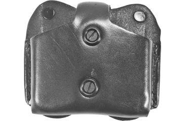 DeSantis Double Magazine Pouch, Black - Single Stack 9mm/.40 A01BJEEZ0