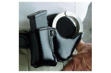 DeSantis Double Play Basketweave Pouch for Glock Magazines, Left Hand - A15SFJJZ0