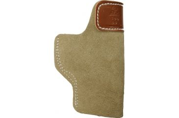 DeSantis Leather Sof-Tuck IWB Holster, Left, Natural 106NBB6Z0