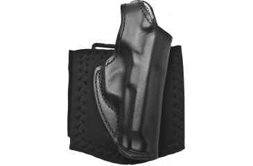 1-DeSantis Right Hand Black Lined Die Hard Ankle Rig Holster 014PC75Z0 - BERETTA 84, 84F, 85, 85F