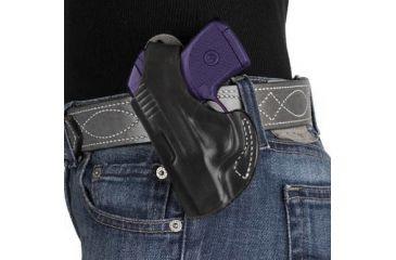DeSantis Maverick Plain Black, Left Hand Holster for S&W Bodyguard 380