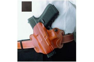 DeSantis Left Hand Black Mini Slide Holster 086BBK9Z0 - KAHR 9/40, MK9, MK40