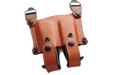 1-DeSantis Right Hand Tan New York Undercover Shoulder Holster w/ Double Mag Pouch 11DTAM8G0 - BERETTA PX4 STORM