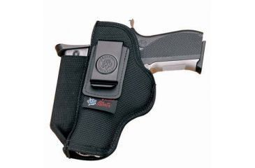 DeSantis Pro Stealth Holster - Ambidextrous, Black N87BJT7Z0 - RUGER LCP 380 WITH CRIMSON TRACE LASER GRIP