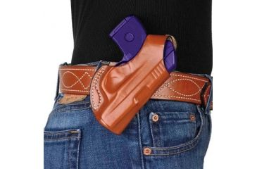 DeSantis Quick Snap Holster for Diamondback DB9 9mm, Plain Tan, Right Hand