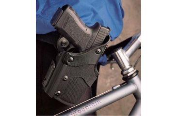 DeSantis Right Hand - Black - Bike Patrol Holster Level III N57BAB2Z0