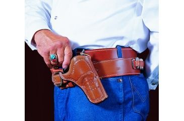 DeSantis Right Hand - Tan - Doc Holliday Cross Draw Holster 083TC54Z0