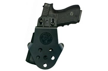 5-DeSantis Right Hand Black DS Paddle Holster D94KAM9Z0 - S&W M&P 9MM/40CAL