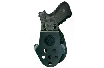 3-DeSantis Right Hand Black DS Paddle Holster D94KAM9Z0 - S&W M&P 9MM/40CAL
