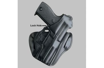 DeSantis Right Hand - Black - F.A.M.S. w/ Lock Hole 01LBAC7Z0