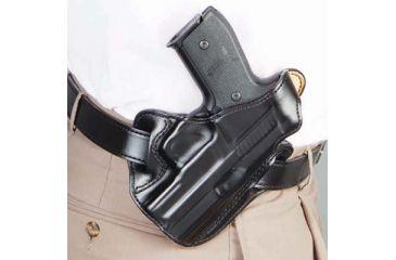 DeSantis Left Hand - Black - Leather Lined - I.C.E. II 011BBN6Z0