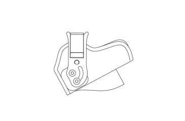 DeSantis Left Hand - Black - Tuck-This II M24BBLAZ0
