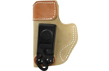 Desantis Sof-Tuck #106 Holster for Kahr Pm45 Natural Suede L Back