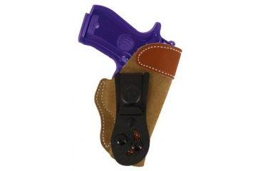 DeSantis Sof-Tuck Holster - Left, Natural - Browning&Beretta 106NB75Z0