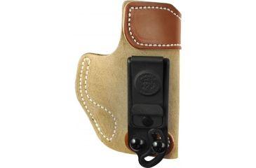 Desantis Sof-Tuck #106 Holster for Kahr Pm45 Natural Suede R Back