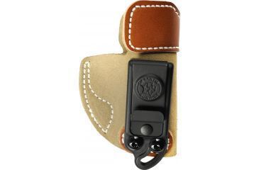 Desantis Sof-Tuck IWB Holster for Kimber Solo, Natural Suede, Right-Hand Back