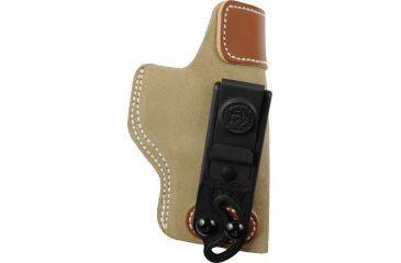 DeSantis Right Hand - Natural - Sof-Tuck Holster for Glock 19, 23, 36 Back