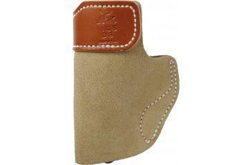 DeSantis Right Hand - Natural - Sof-Tuck Holster Front