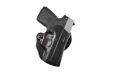 DeSantis Style 019 Mini Scabbard Holster, Right Hand, Black - Kahr PM 9/40 w/ CT LG-437 - 019BAU2Z0